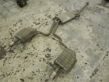 Audi A4 B6 1.8T Exhaust Cat Back Twin Exit FWD