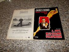 ALBUM JAMES BOND AGENTE SEGRETO 007 GOLDFINGER MOVICOLOR 1965 ORIG.CPL(-13)MB/OT