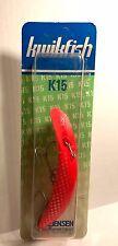 Luhr-Jensen Kwikfish K15 Glo/ Fluorescent Red 5413-015-991