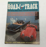 Road and Track April 1968 Amateur Champions Porsche & Maseratis