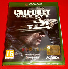 CALL OF DUTY GHOSTS Xbox One Ghost Versione Italiana 1ª Edizione ○ NUOVO - DB