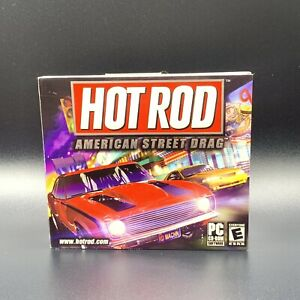 Video Game PC Hot Rod American Street Drag NEW SEALED