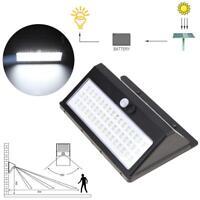 Solar Power 48 LED PIR Motion Sensor Garden Yard Wall Outdoor Street Light Lamp