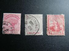 Trinidad and Tobago 3 Old Stamps