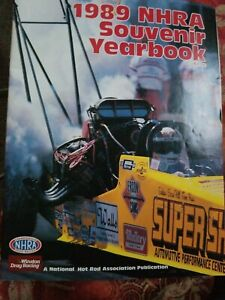 NHRA SOUVENIR YEARBOOK 1989 - YEAR IN REVIEW -  Excellent