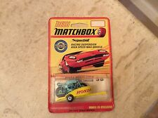 MATCHBOX SUPERFAST 38 A HONDA MOTORCYCLE & trailer, cardées,