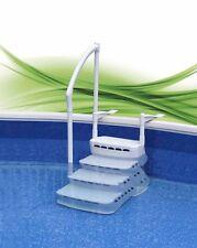 Pool Einbautreppe PVC Komfort 2 Pooleinbautreppe Poolleiter