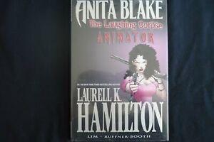 Anita Blake vampire hunter Animator  (b2) hardcover  graphic Novel Marvel Laurel