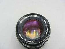 Yashica F1.4 50mm ML Contax/Yashica C/Y Mount Lens For SLR/Mirrorless Cameras