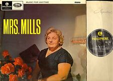 MRS MILLS music for anytime LP EX-/G+ PMC 1254 uk parlophone 1965 mono