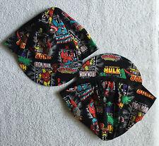 MARVEL SUPERHEROES CLASSIC BLACK TEAM CYCLING CAP NEW HAT ***