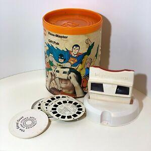 GAF Viewmaster Gift Pak DC Comics Good Guys Superman Batman Wonder Woman set