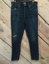 Citizens of Humanity Size 28 Button Fly Premium Vintage Jeans Skinny Distressed