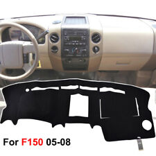 Dashmat Dash Cover For Ford F150 2004-2008 Truck Mat Dashboard Cover Black