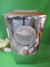 % Vase 32 cm  Medusa Platin  Versace von  Rosenthal   %
