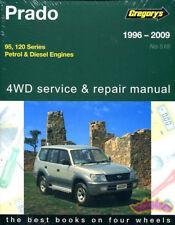 PRADO SHOP MANUAL LAND CRUISER SERVICE REPAIR TOYOTA BOOK LEXUS GX GREGORY 96-09