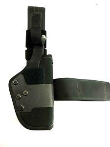 Uncle Mikes Sidekick tactical Kodra Dual Retention drop leg thigh holster Sz 19