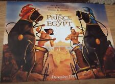 Walt Disneys THE PRINCE OF EGYPT(1998) Original UK mini poster