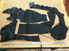 1kg bag SOFT ITALIAN leather offcuts - black - 2.0mm - veg tanned!