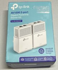 TP Link (TL-PA7020 Kit) Gigabit Powerline Starter Kit AV1000 2-Port