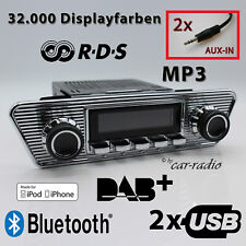 Retrosound San Diego DAB+ Komplettset Trapez Oldtimer Radio Bluetooth 306C078039