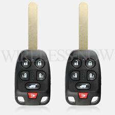 2 Car Key Fob Keyless Entry Remote 6Btn For 2011 2012 2013 Honda Odyssey