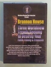 brannon howse THREE WORLDVIEW TRENDS SEEKING TO DESTROY FAITH FAMILY   DVD NEW