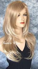 Perruques, extensions et matériel blonds ondulés pour femme