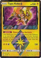 Pokemon - Tapu Koko Prism Star - 51/181 - Sun Moon Team Up - Holo Rare