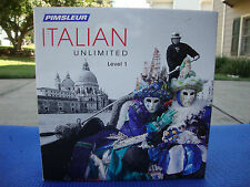 Pimsleur Language Learning Software - Italian Unlimited Level 1 for Mac, Windows