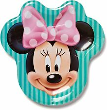 Minnie Mouse Bow-tique Shaped Lunch Dinner Plates Birthday Party Supplies 8 Ct