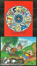 Dominica Disney Lunar New Year Of Rat S/S'S Scott #1831/32 Mint Never Hinged