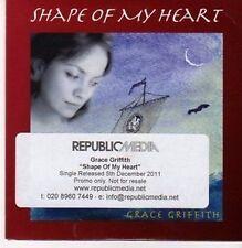 (CG14) Shape of My Heart, Grace Griffith - 2011 DJ CD