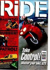 RIDE MAGAZINE - May 1999