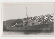 Warship F155 Plain Back Shipping Photo Card 196a