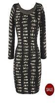 Very/Love Label Printed  Dress Studs  20 Black/Multi