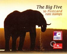 S.AFRICA, 2001 THE BIG FIVE, ELEPHANT  BOOKLET, SB 67, MNH & COMPLETE