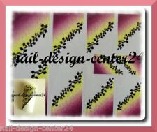 Diagonal Sticker Nagelsticker super schön R-F-030