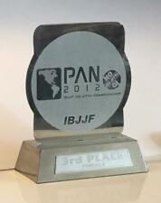 Ib Jjf Jiu-Jitsu 2012 Championship No-Gi Award Stand 3rd Pl Female