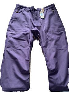 westbeach ski/snow Board trousers - Size XL - Purple - New