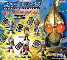 Bandai Masked Rider Swing FIVE Set of 6 Mask Figure Keychain