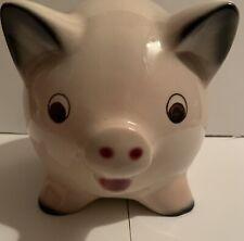 Vintage 1962 Goebel Porcelain Piggy Bank West Germany