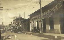 Nogales Son Mexico Calle Elias Real Photo Postcard