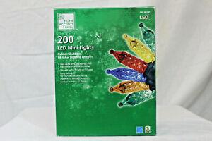 200 Count Multi-Color  LED Mini Christmas Lights NIB