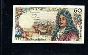 Billet 50 Francs Racine 03/06/71 TTB Fay 64-18