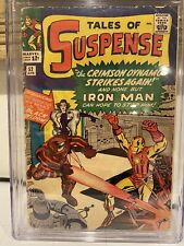 Tales Of Suspense 52 CGC Qualified 1st Appearance Of Black Widow Good Movie!