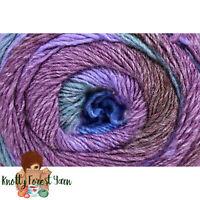 Colorburst Universal Yarn ARES Merino Wool DK Weight 660y 7oz Purple Garnet Blue