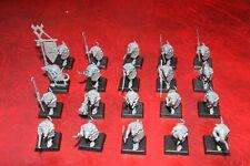 Warhammer ISLA DE SANGRE SKAVEN clanrat Lanceros x20 (plástico) sin pintar un