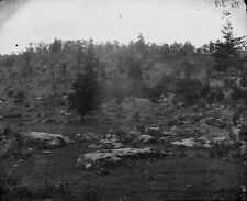 Battle of Gettysburg - Little Round Top from Devil's Den 8x10 Civil War Photo