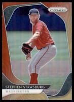 2020 Prizm Red-Orange #93 Stephen Strasburg - Washington Nationals